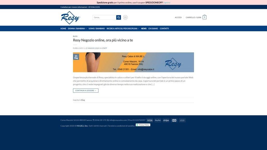 Website Resydance